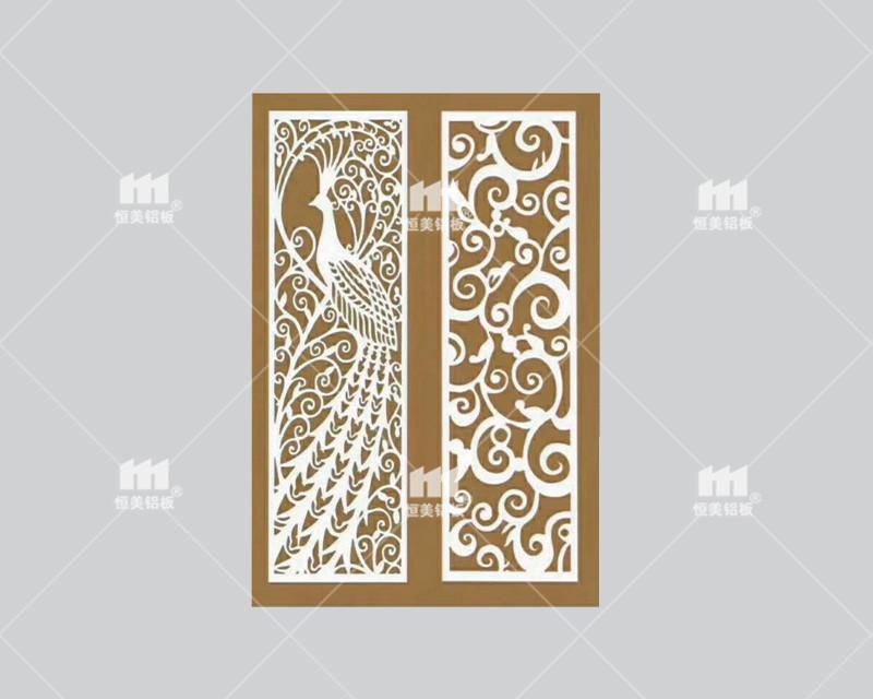 浙江艺术雕花镂空铝单板